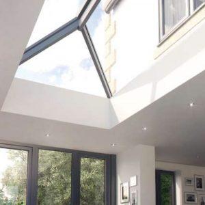 Atlas Aluminium Contemporary Roof Lantern - AMBI-Blue 1.2 U-Value Glazing